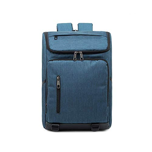 SHRAY Backpacks/Sleeves Fashion Large Capacity Casual Breathable Notebook Tablet Backpack, Product Size: 42cmx29cmx12cm (Color : Blue) Blue