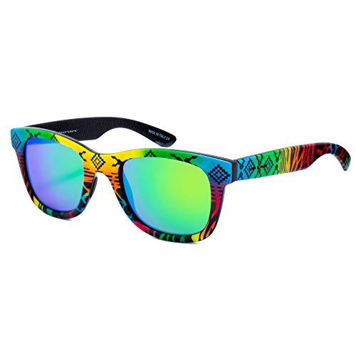 italia independent 0090INX-149-000 Gafas de sol, Multicolor, 50 Unisex