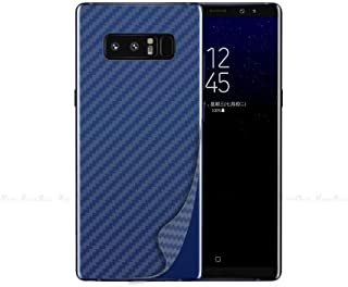 Back Protection Film for Samsung Galaxy Note 9, Wireless Charging Compatible, Scratch Proof Carbon Fiber Films, Translucent, Set of 2
