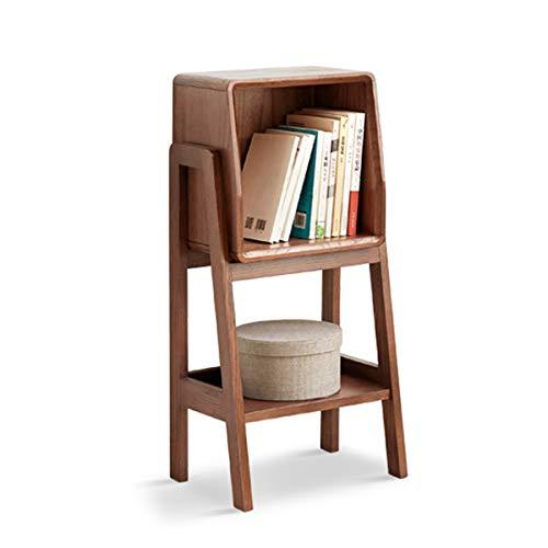 2/3 Niveau Hout Huis Shelf Storage Organizer TV Zijkast Eik Bank Rek Gemakkelijk Boekenplank Huiskamer Kluisje Compact En Eenvoudig Te Bouwen (Size : A)