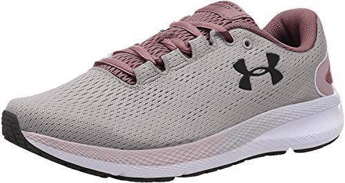 Under Armour womens Charged Pursuit 2 Running Shoe, Dash Pink (600 White, 9.5 US