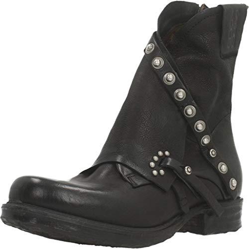AS98 | Airstep | Riemchen Stiefelette - schwarz | Nero, Farbe:schwarz, Größe:37