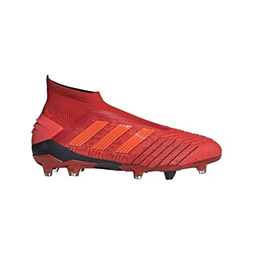 adidas Predator 19+ Firm Ground Cleats Men's, Red, Size 11
