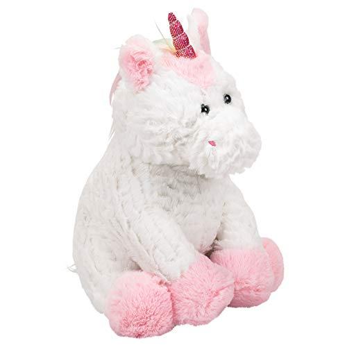 Ganz Plush 11 Inch Pink White Unicorn Coin Bank Stuffed Animal