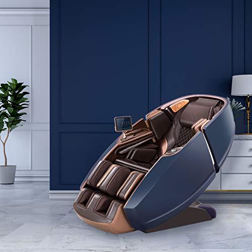 Naipo massagestoel Shiatsu massage stoel Zero Gravity voor het hele lichaam, met verwarming, SL Track, kloppen, kneden, luchtmassage-systeem, Bluetooth 3D surround sound muziek - MGC-8900BB