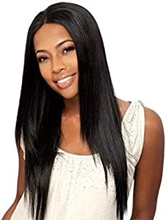 Black Straight Rose Net Front Human Hair Wigs Pre Plucked With Baby Hair Glueless Lace Front Wigs Bleached Knots Brazilian...