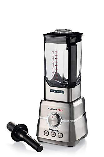 Ariete 577 Blendy Pro Standmixer Power Blender, Edelstahl, Kapazität 2 Liter, 6 Klingen, 6 Geschwindigkeiten, Pulse, Ice Crush, Smoothie, EK1, 2000 Watt, 32000 RPM
