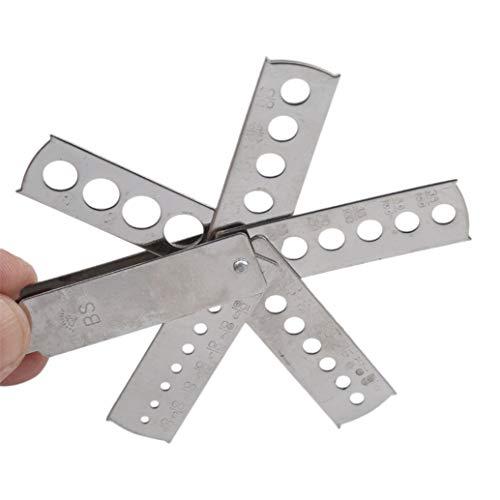 #N/A Diamant Edelstein Steinmesser Messgerät Fan Messgerät Professionelles Schmuck Ausrüstung Zubehör Messwerkzeug Schmucksachen, die Werkzeuge