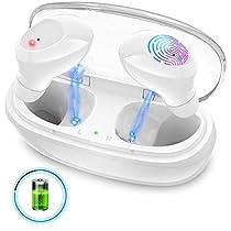 【2020 最新Bluetooth5.0 IPX5完全防水】Bluetooth ワイヤレスイ...