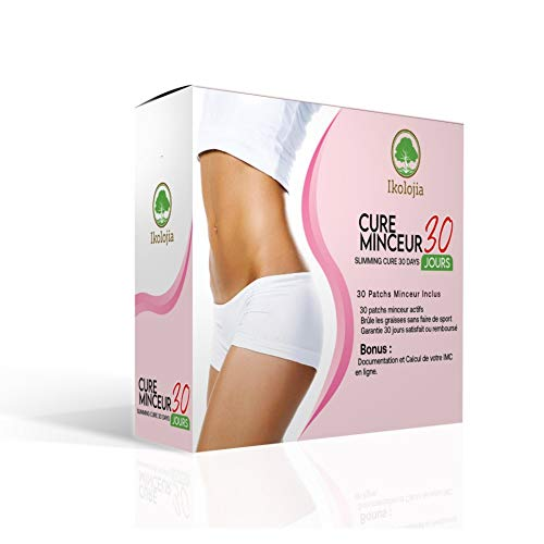Weight Loss Sticker (30 Pcs) | Slimming Patch, Fat Burner | Beer Belly, Buckets Waist | Slimming Patches for Weight Loss | Magnetic Stickers | Instructions for Use and Online BMI Calculator