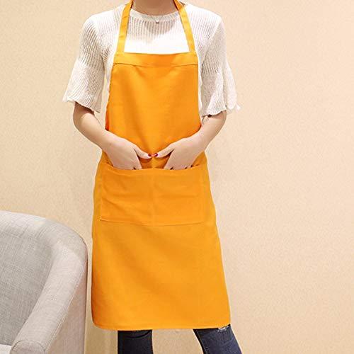 YLCJ schorten schort, Koreaanse koffie shop, supermarkt, werkkleding, keukenschort, Gules