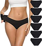 ALTHEANRAY Women's Seamless Underwear No Show Panties Soft Stretch Bikini Underwears 6 Pack(3081S-color11)