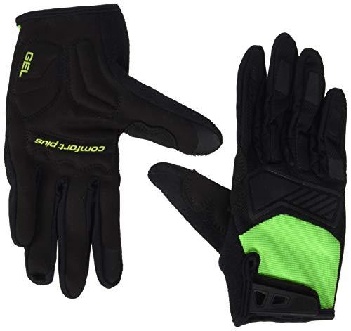 Ziener Herren CAMET TOUCH long bike glove Fahrrad-/Mountainbike-/Radsport-Handschuhe | Langfinger mit Touchfunktion - atmungsaktiv/dämpfend