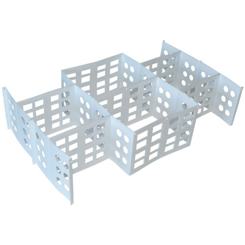 8 Compartment Extra Large Drawer Organizer