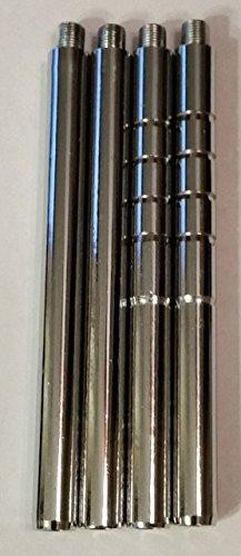 4X Autotain Versa Car Headrest DVD Player Metal Install Posts (10 12 12.7 14mm) (12.7mm)