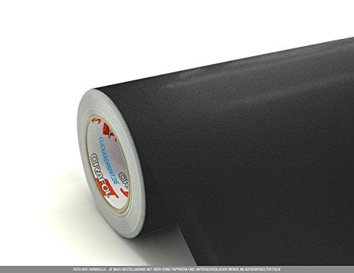 CLICKANDPRINT 3m Klebefolie, 50cm breit, Anthrazit Metallic » Klebefolie/Stickerfolie/Selbstklebefolie