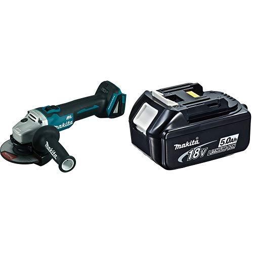 MAKITA DGA504Z -Miniamoladora + Makita 4434175 - Acumulador