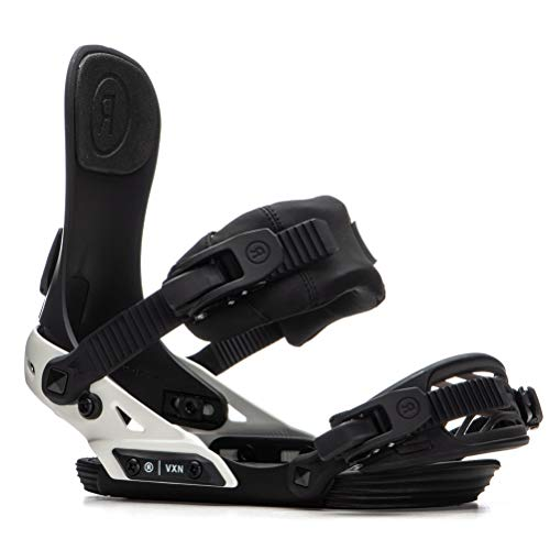 Ride VXN Womens Snowboard Bindings 2020 - Small/Black-Off White -  R1904012012