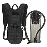 Unigear Tactical Hydration Packs Backpack 1050D with 2.5L Water Bladder, Thermal...