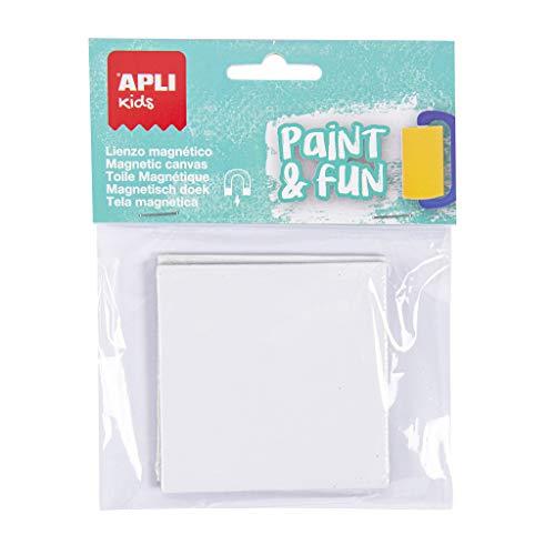 APLI Kids – Tela magnetica Mini quadrata, 2 pezzi