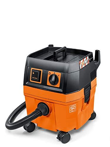 FEIN 92035223000 Nat-/droogzuigerset DUSTEX 25L (industriële stofzuiger 1380W, tank 22l, extra stopcontact)