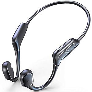 """骨伝導イヤホン 【Qualcomm aptXに対応 Bluetooth5.1技術】 Bluetooth イヤホン スポーツ仕様 ワイヤレスイ..."""""""