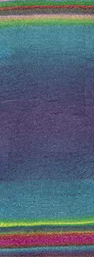 Lana Grossa Gomitolo Felice 713 - Pink/Rosa/Smaragd/Rot/Violett/Grün/Türkis/Gelb