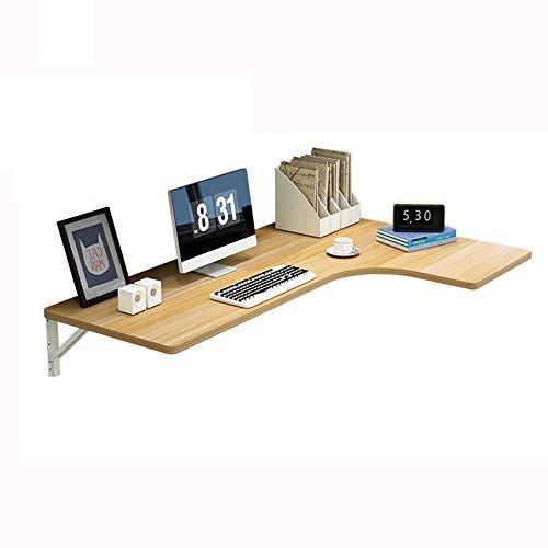 Codzienne wyposażenie Składany stół naścienny Drewniany stół narożny Podwójna podpórka Stolik kuchenny Biurko na kozłach Nadaje się do nauki komputera i jadalni C (rozmiar: 80 * 60 * 40 cm)