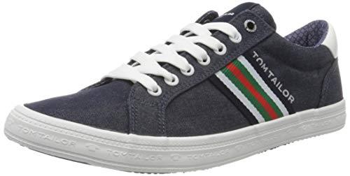 TOM TAILOR Herren 8081305 Sneaker, Blau (Navy 00003), 42 EU
