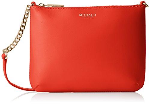 Modalu Twiggy Tracolla, Rosso (Red (Coral Red)), Taglia Unica
