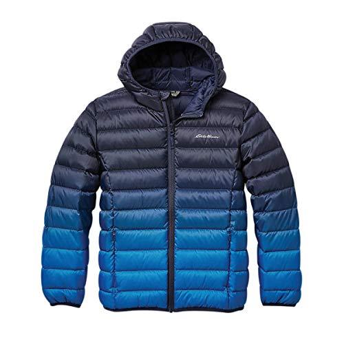 Eddie Bauer Kids Down Jacket - Hooded, Down Outerwear | Cobalt, Small