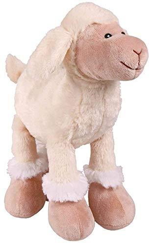 Trixie SOFT WHITE SQUEAKY SHEEP Spielzeughund