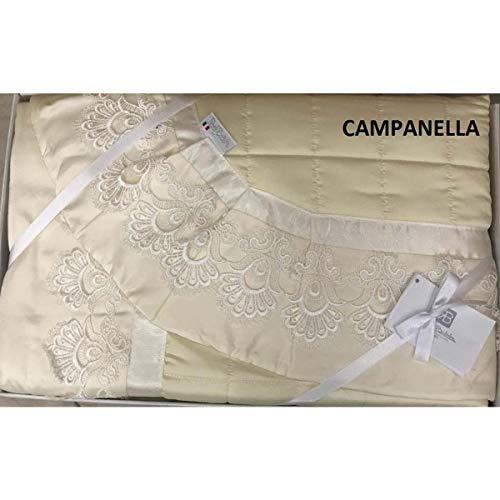 Sarani - Elegante Campanilla Tagesdecke für...