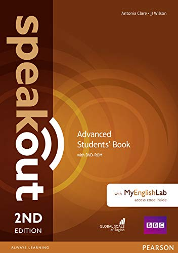 Speakout Advanced 2Nd Edition Students' Book With DVD-Rom And MyEnglishLab Access Code Pack: Advanced - Students' Book With DVD-ROM and MyEnglishLab Access Code Pack