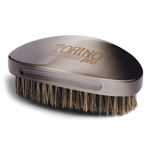 Torino Pro Wave Brushes by Brush king #81- Soft Curved Palm 360 Waves brush