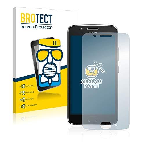 BROTECT Entspiegelungs-Panzerglasfolie kompatibel mit Motorola Moto G5 - Anti-Reflex Panzerglas Schutz-Folie Matt