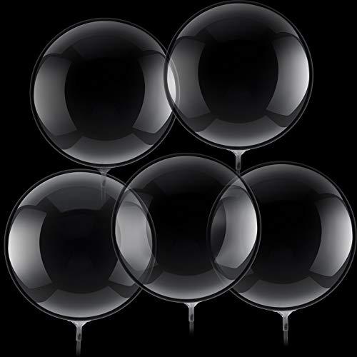 30 Palloncini Bolla Trasparenti Palloncini Bobo di Compleanno Palloncini Trasparenti con Bolle di Cristallo per Anniversario Matrimonio Natale (18 Pollici)