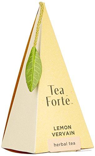 Tea forté Lemon Vervain Kräutertee Zitronenverbene-48 Tee-Pyramiden, 1er Pack (1 x 72 g)
