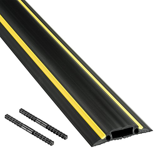 D-Line FC83H | Canaleta pasacables para suelo | 83 mm x 1,8m...