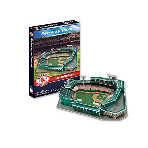 Pessica Stadium 3D Jigsaw,Mlb Boston Red Sox Fenway Baseball Stadium Model Birthday for Adults And Children
