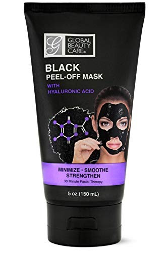 Black Peel-off Mask with Hyaluronic Acid