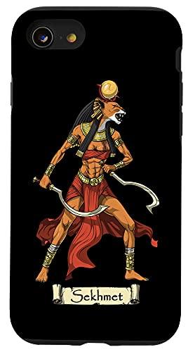 iPhone SE (2020) / 7 / 8 Sekhmet Egyptian Goddess Mythology Ancient Egypt Bastet Case