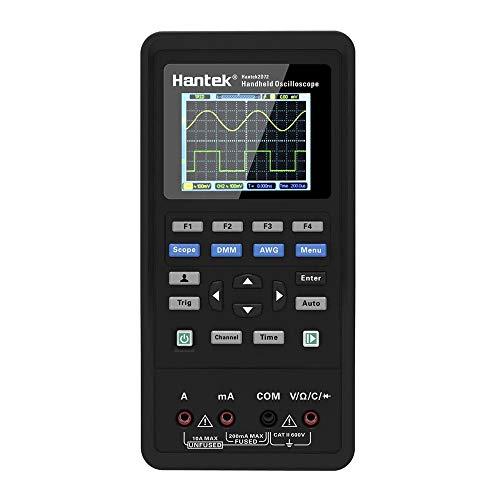 Amazon.com - Hantek 3in1 Digital Oscilloscope + Waveform Generator + Multimeter (2D72) 70 MHz