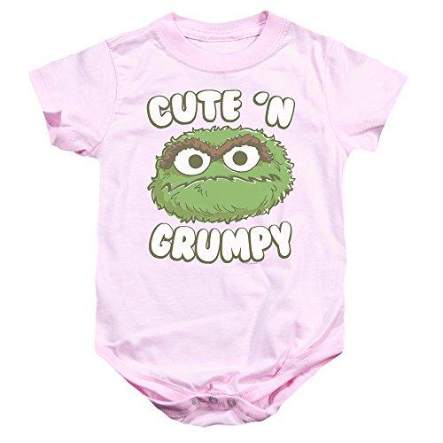 Sesame Street - Barboteuse - Bébé (garçon) - rose - 12 mois