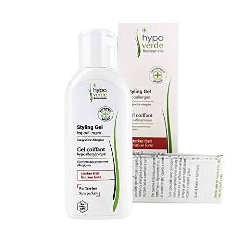 Styling-Gel | Hypoallergen | Extra stark | Stylen für Allergiker | Bei Juckreiz, Schuppen, trockener Haut sowie Hautkrankheiten geeignet | Naturkosmetik