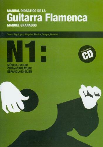 Manual didactico de la guitarra flamenca, 1 (libro+CD)