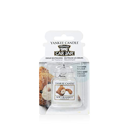 Yankee Candle 1521593E Deodoranti per Auto, Car Vaso Ultimate, Soft Blanket