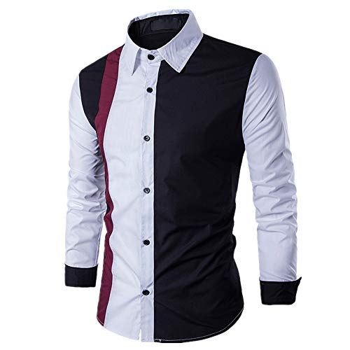 N\P Camiseta de manga larga para hombre de primavera y otoño