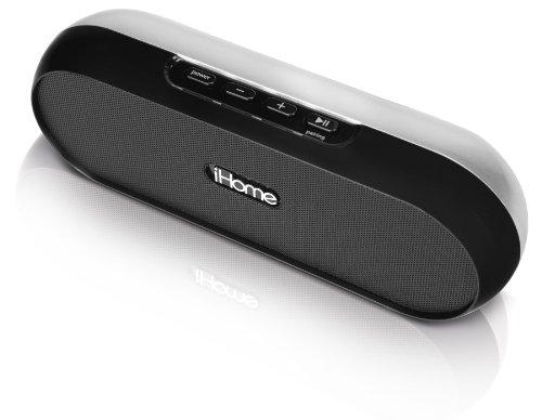 iHome iDM12BX Bluetooth Wireless Speaker (Black)