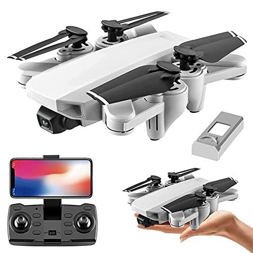 Drone con telecamera 4K EIS Drone con telecamera UHD per adulti, Easy GPS Quadcopter per principianti con 25 minuti di volo, motore brushless, trasmissione FPV 5Ghz, ritorno automatico a casa, seguim